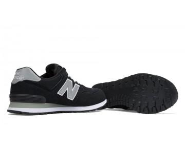 New balance chaussures unisex 574 core lifestyle noir et gris M574-155