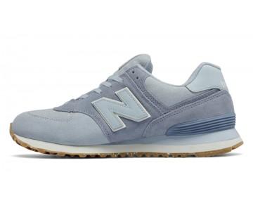 New balance chaussures unisex 574 vintage lifestyle porcelain bleu et reflection ML574-165