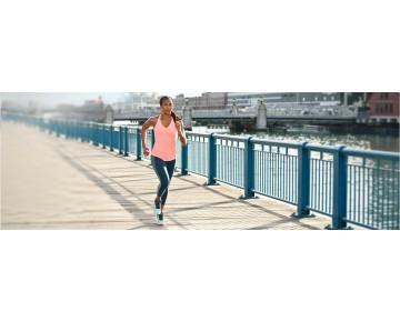 New balance chaussures pour femmes fresh foam boracay running supercell et ozone bleu et bleached sunrise WBORA-281