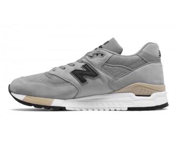 New balance chaussures pour hommes 998 lifestyle lumière gris et noir M998-093