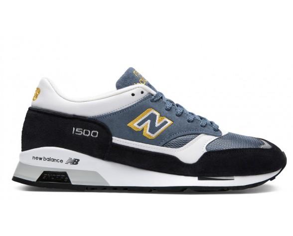 New balance chaussures unisex 1500 lifestyle marine et jaune et bleu M1500-097