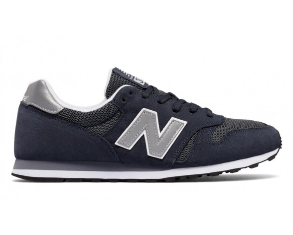 New balance chaussures unisex 373 modern classics casual marine et argent ML373-118