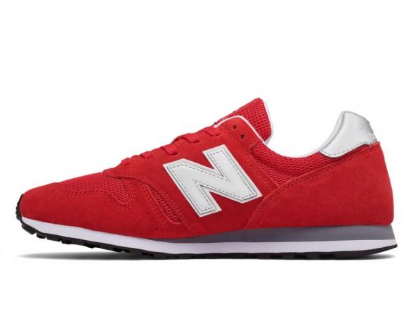 New balance chaussures unisex 373 modern classics casual rouge et argent ML373-122