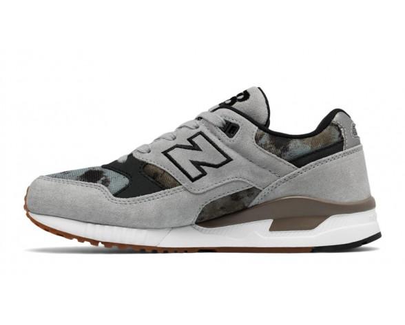 New balance chaussures pour femmes 530 lifestyle argent vison et noir et covert W530-229