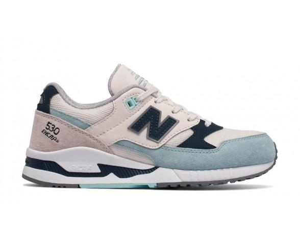 New balance chaussures pour femmes 530 suede lifestyle blanc et noir et sea glass W530-231