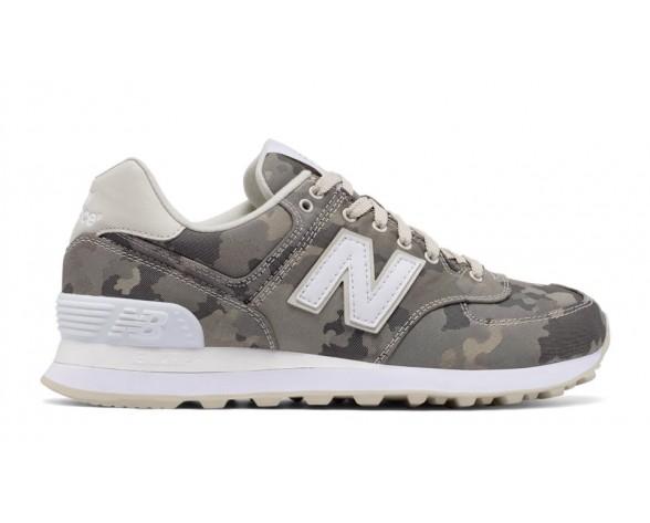 New balance chaussures unisex 574 15 ounce canvas lifestyle powder et blanc et gris ML574-153