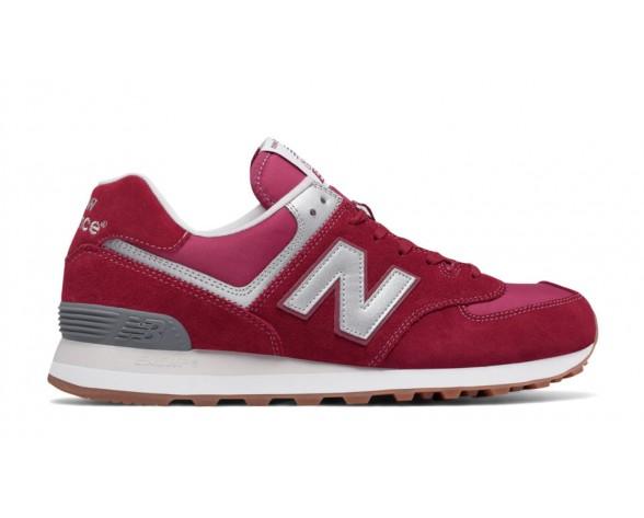 New balance chaussures unisex 574 lifestyle vraiment rouge et rouge et gris ML574-159
