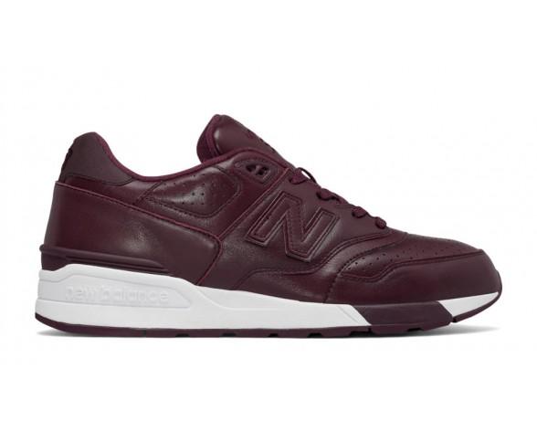 New balance chaussures unisex 597 leather lifestyle bourgogne ML597-173