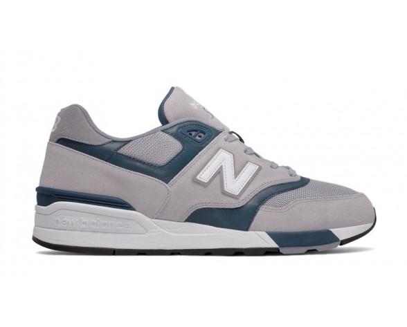 New balance chaussures pour hommes 597 lifestyle gris et foncé teal ML597-335