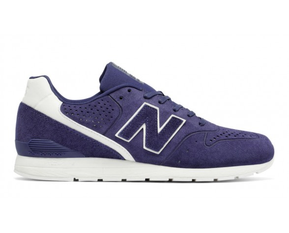 New balance chaussures unisex 996 leather lifestyle marine et blanc MRL996-182