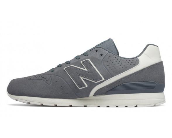 New balance chaussures unisex 996 leather lifestyle gris et blanc MRL996-183