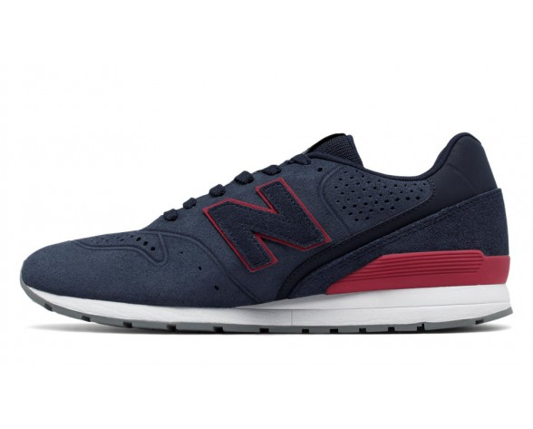 New balance chaussures pour hommes 996 classic marine et rouge MRL996-342
