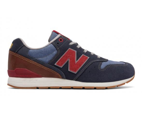 New balance chaussures pour hommes 996 suede casual marine et gris MRL996-345