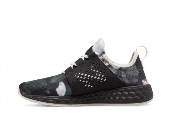 New balance chaussures pour femmes fresh foam cruz course noir graphic et noir WCRUZ-284