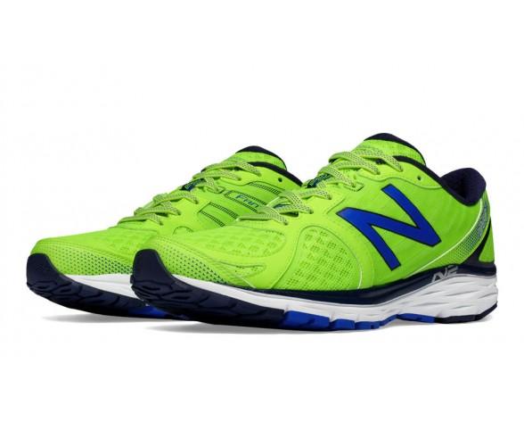 New balance chaussures pour hommes 1260v5 course jaune et bleu M1260-383
