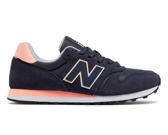 New balance chaussures pour femmes 373 lifestyle marine et noir et rose WL373-302