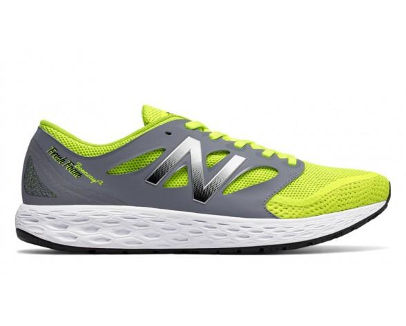 New balance chaussures pour hommes boracay course gris et jaune MBORA-430