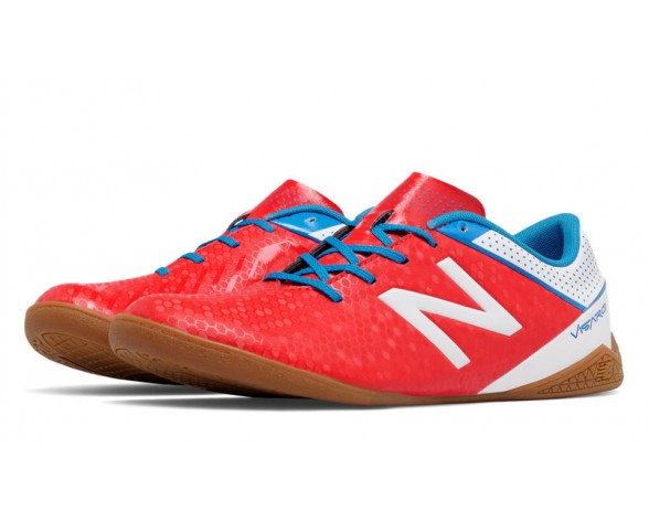 New balance chaussures pour hommes visaro control in football atomic et blanc et barracuda MSVRCI-467