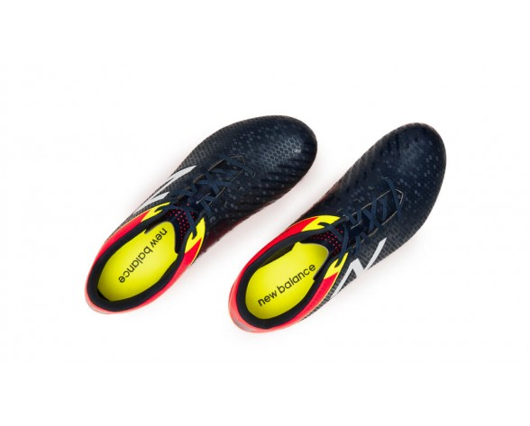 New balance chaussures pour hommes visaro control sg football brillant cerise et galaxy et firefly MSVRCS-470