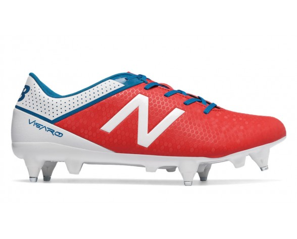 New balance chaussures pour hommes visaro control sg football atomic et blanc et barracuda MSVRCS-471