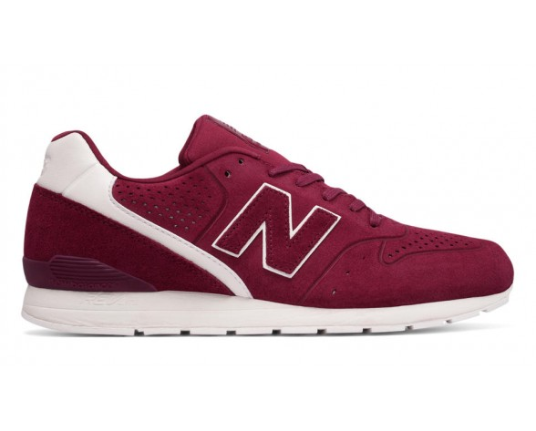 New balance chaussures unisex 996 leather lifestyle bourgogne et blanc MRL996-064