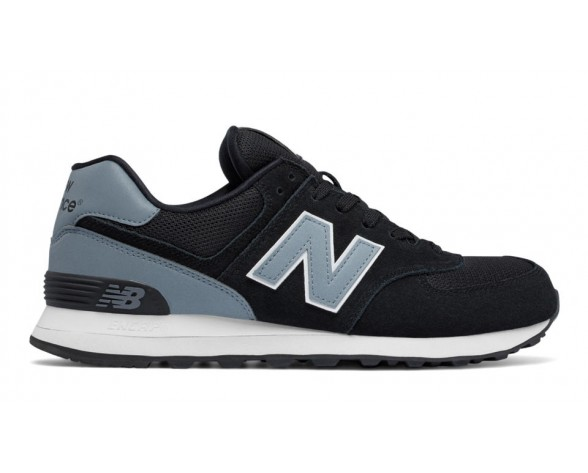 New balance chaussures unisex 574 reflective lifestyle noir et gris ML574-046