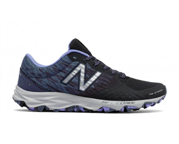 New balance chaussures pour femmes 690v2 entraînement noir et gem et thunder WT690-125
