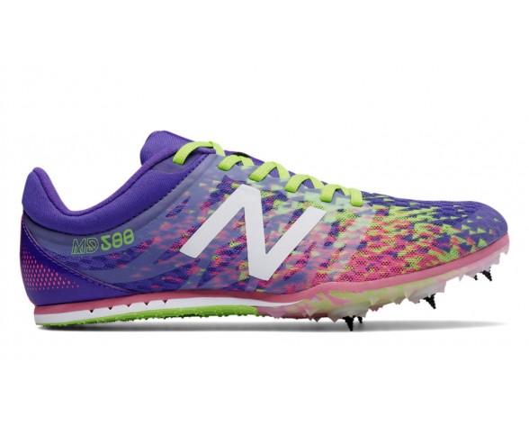 New balance chaussures pour femmes md500v5 spike course violet et firefly et guava WMD500-098