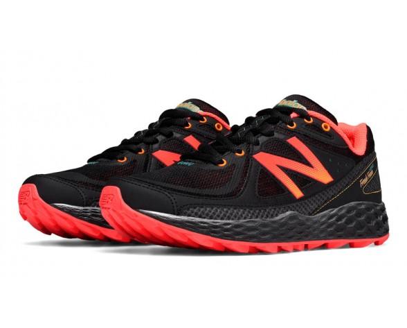 New balance chaussures pour femmes fresh foam hierro course noir et orange WTHIER-085