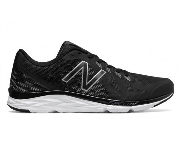 New balance chaussures pour hommes 790v6 running noir et argent et brillant cerise M790-188