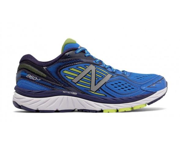New balance chaussures pour hommes 860v7 running bleu et jaune M860-191