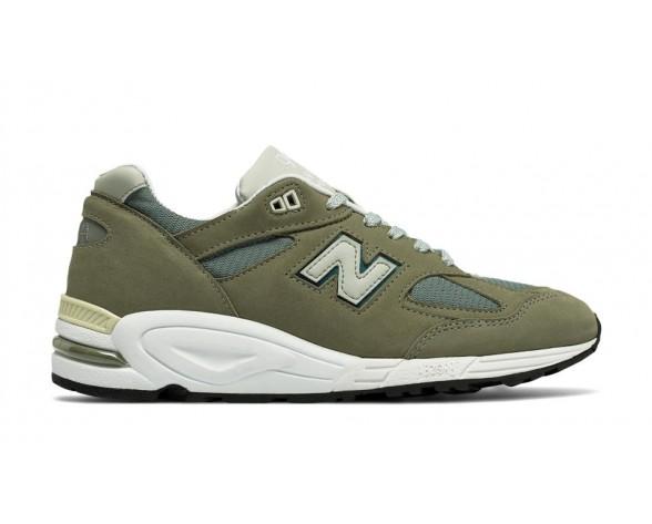 New balance chaussures pour hommes 990v2 lifestyle olive et gris M990-073