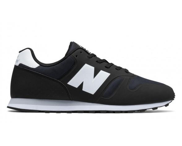 New balance chaussures pour hommes 373 nylon casual noir et blanc MD373-027