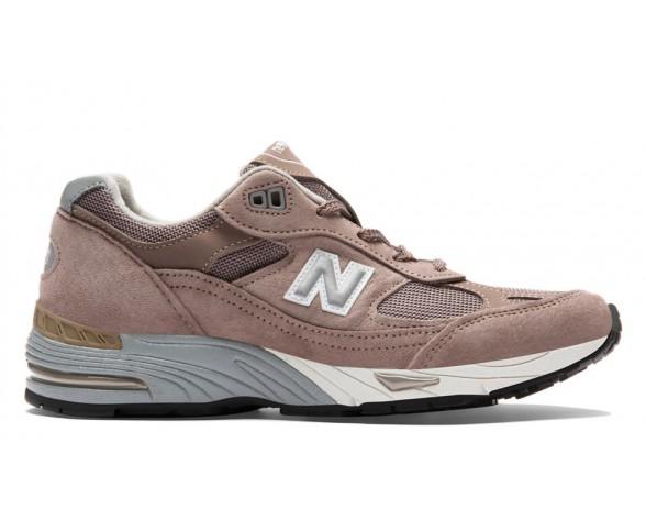 New balance chaussures unisex 991 pigskin casual cappuchino et argent W991-063