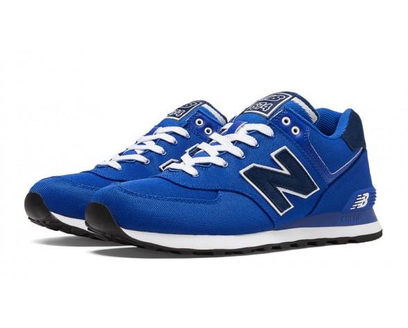 New balance chaussures unisex 574 pique polo pack casual bleu et marine ML574-045