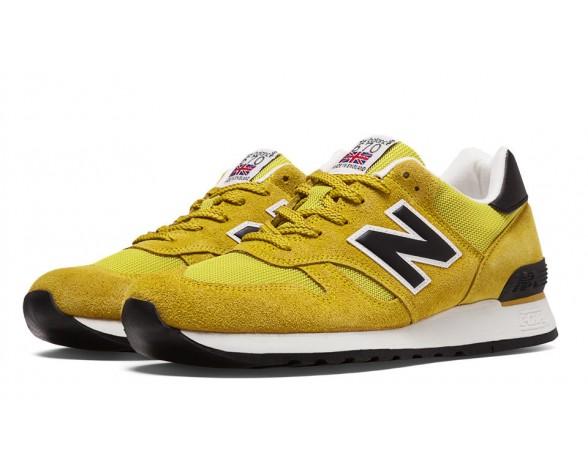 New balance chaussures pour hommes 670 lifestyle jaune et noir M670-067