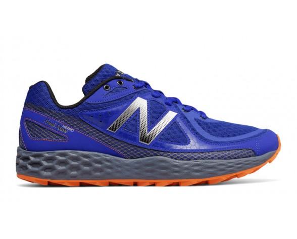 New balance chaussures pour hommes fresh foam hierro course bleu et gris MTHIER-114
