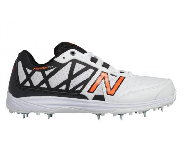 New balance chaussures pour hommes 10v2 minimus cricket blanc et orange et noir CK10-147