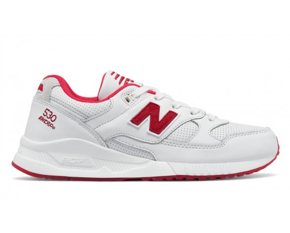 New balance chaussures pour hommes 530 elite edition running blanc et rouge ML530-035