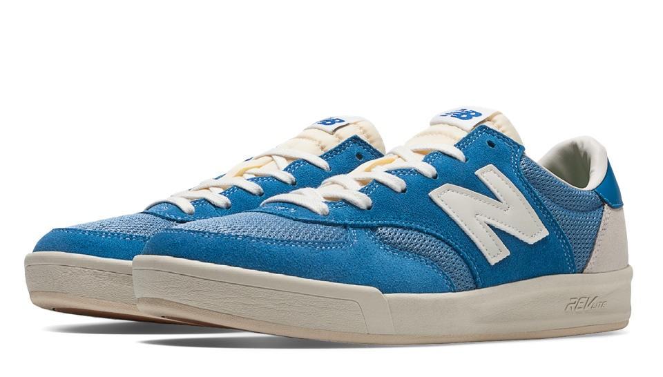 Outlet New balance chaussures unisex 300 vintage casual bleu et ...