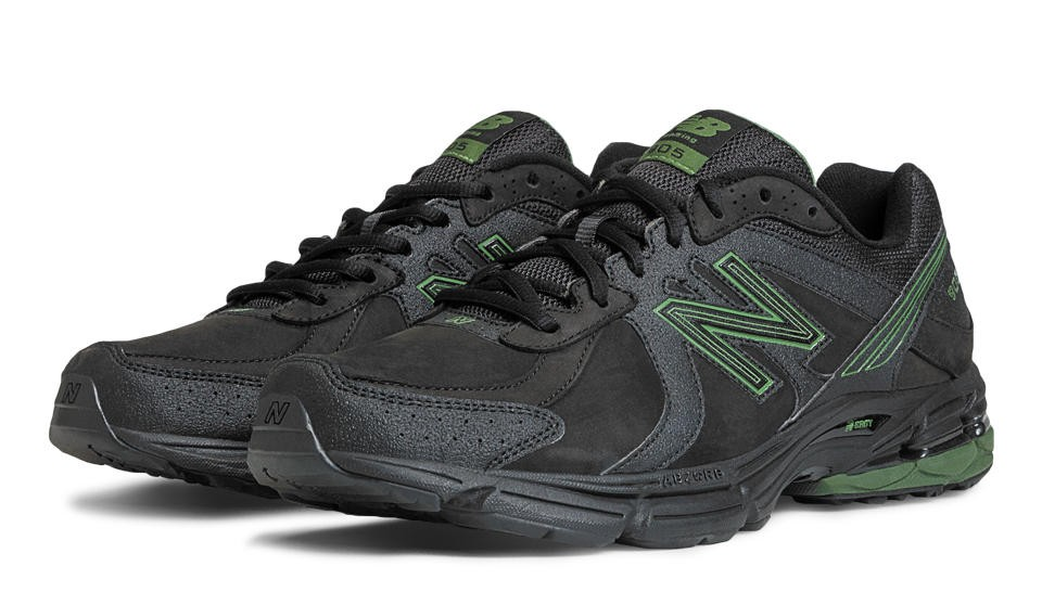 Outlet New balance chaussures pour hommes 905 marche noir et vert ...