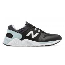 New balance chaussures pour hommes 009 noir et lumière gris ML009-267