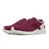 New balance chaussures pour hommes 009 bourgogne et blanc ML009-272