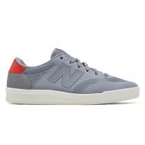 New balance chaussures pour hommes 300 classic gris et rouge CRT300-284