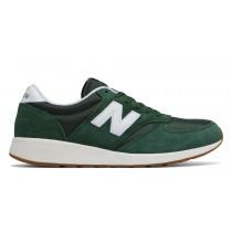New balance chaussures unisex 420 re-engineered lifestyle vert et blanc MRL420-136