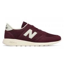 New balance chaussures pour hommes 420 re-engineered lifestyle bourgogne et lumière gris MRL420-290