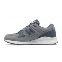 New balance chaussures pour femmes 530 canvas waxed casual steel et bleu pluie W530-227