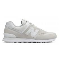 New balance chaussures unisex 574 lifestyle sea salt et blanc ML574-161