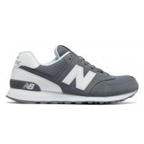 New balance chaussures pour hommes 574 reflective lifestyle gris et blanc ML574-312