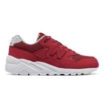 New balance chaussures pour femmes 580 casual rouge et nimbus cloud WRT580-252